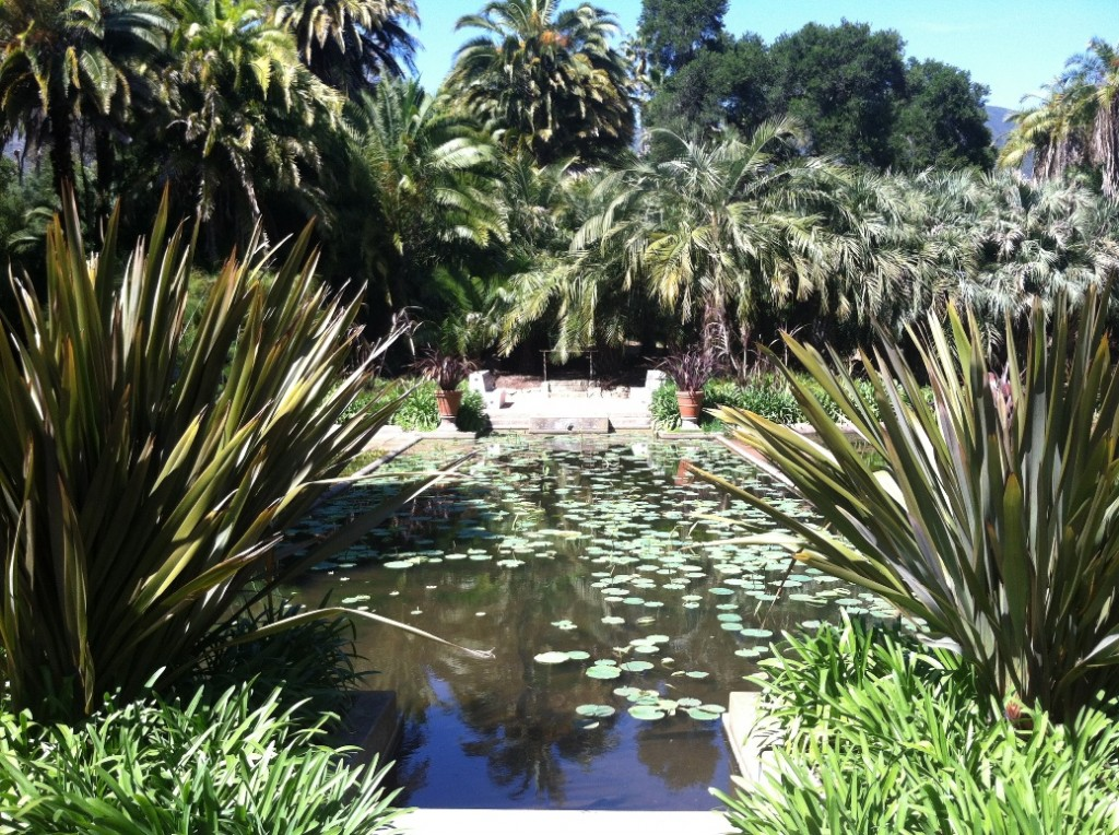 Lotusland - Water Garden