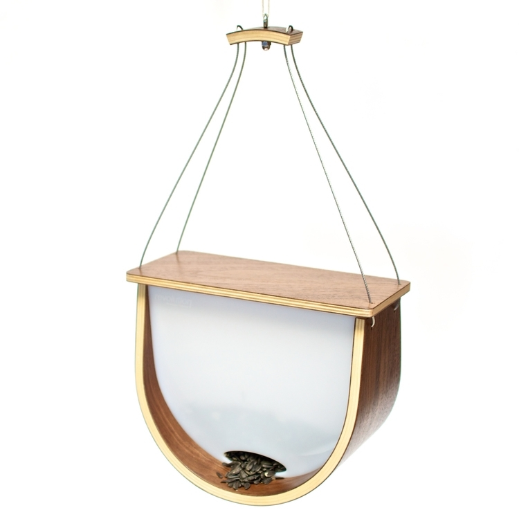 The Arc Birdfeeder by Zoe Blatter