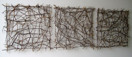 Artist Paul Schick: Organic Twig Sculpture
