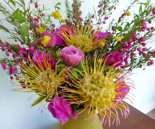 Seattle Wholesale Growers Market - bouquet